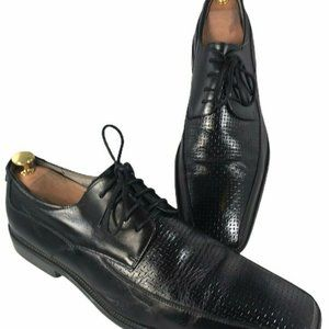 Stacy Adams Mens Black Size 12 M Leather Oxford